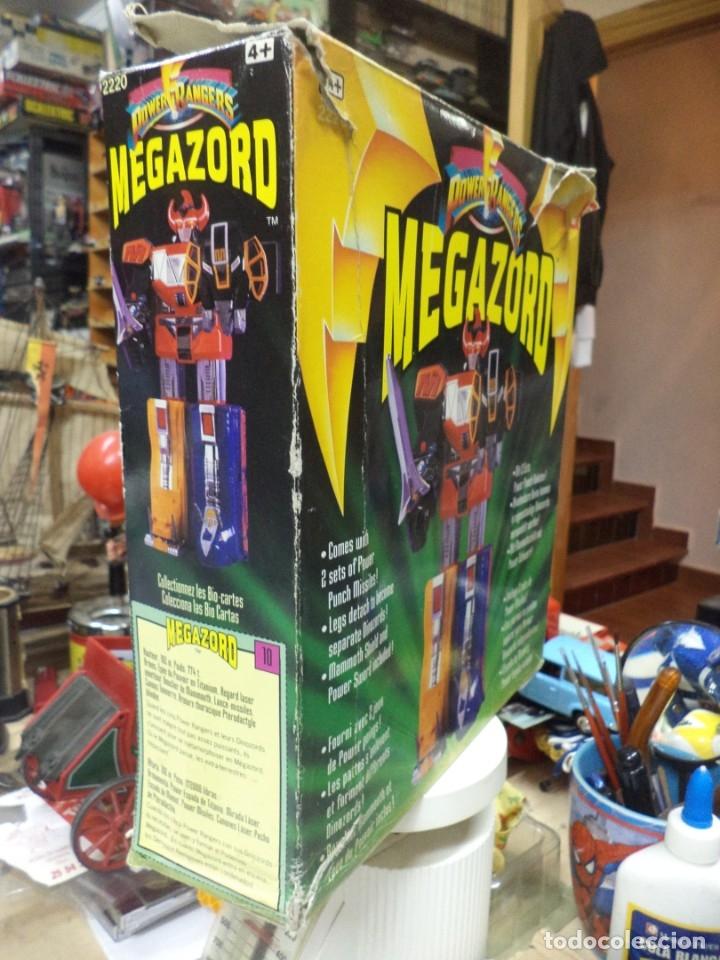 Figuras y Muñecos Power Rangers: Power Rangers Megazord 1ªGeneración 1993.Bandai ref.2220.Dinozord. - Foto 2 - 159694613