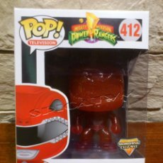 Figuras y Muñecos Power Rangers: POWER RANGERS - FUNKO - POP - RED RANGER - 412 - MORPHING EXCLUSIVE - NUEVA. Lote 136646806