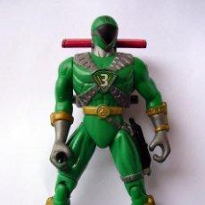 Figuras y Muñecos Power Rangers: FIGURA DE ACCIÓN PLÁSTICO DURO - POWER RANGERS BANDAI 1999 VERDE. Lote 137852578