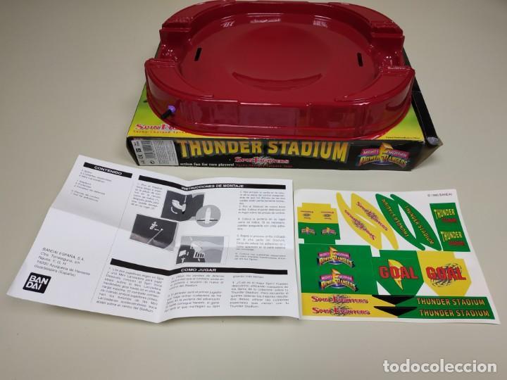 S9 - THUNDER STADIUM POWER RANGERS SPIN FIGHTERS BANDAI 1995 NEW OLD STOCK (Juguetes - Figuras de Acción - Power Rangers)