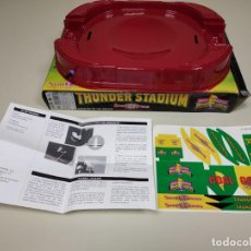 Figuras y Muñecos Power Rangers: S9 - THUNDER STADIUM POWER RANGERS SPIN FIGHTERS BANDAI 1995 NEW OLD STOCK. Lote 138124062