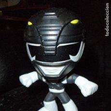 Figuras y Muñecos Power Rangers: RANGER NEGRO FIGURA CABEZONA - POWER RANGERS 1ª SERIE - FIGURA MCDONALDS - . Lote 142687208