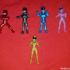 Figuras y Muñecos Power Rangers: FIGURAS POWER RANGERS SABAN'S PELICULA 2017. Lote 138901120