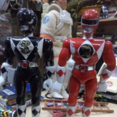 Figuras y Muñecos Power Rangers: LOTE POWER RANGER ROJO Y NEGRO.BANDAI 1993.1ªSERIE.. Lote 139114930