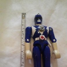 Figuras y Muñecos Power Rangers: FIGURA POWER RANGERS AZUL -BILLY- 11,5 CM. BANDAI AÑO 1993. Lote 139227558