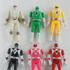 Figuras y Muñecos Power Rangers: COLECCION 6 FIGURA POWER RANGERS AUTO MORPHIN 1993 BANDAI. Lote 139350850