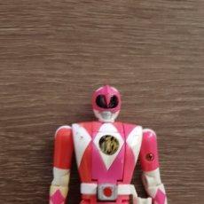 Figuras y Muñecos Power Rangers: FIGURA POWER RANGERS ROSA BANDAI 1993 TRANSFORMABLE. Lote 139711722