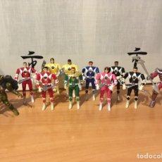 Figuras y Muñecos Power Rangers: COLECCIÓN POWER RANGERS TRANSFORMABLES, DE BANDAI. Lote 139979797