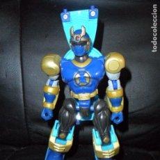 Figuras y Muñecos Power Rangers: NAVY THUNDER RANGER TRANSFORMABLE - POWER RANGERS NINJA STORM 2002 BANDAI -. Lote 140219310
