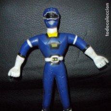 Figuras y Muñecos Power Rangers: RANGER AZUL FIGURA ELASTICA - POWER RANGERS TURBO, BANDAI 1997-. Lote 140355758