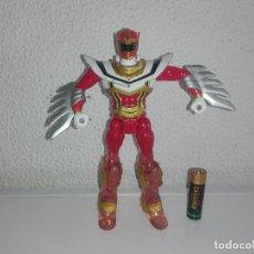 Figuras y Muñecos Power Rangers: MUÑECO FIGURA DE ACCION POWER RANGERS ROJO BANDAI . Lote 141879078