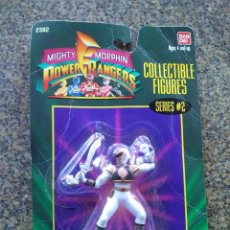 Figurines et Jouets Power Rangers: POWER RANGERS BLANCO -- SERIES 2 -- BANDAI -- BLISTER --. Lote 174426295