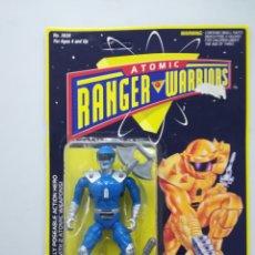 Figuras y Muñecos Power Rangers: ATOMIC RANGER WARRIORS FIGURA DE ACCION BLISTER. Lote 142733062