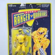 Figuras y Muñecos Power Rangers: ATOMIC RANGER WARRIORS FIGURA DE ACCION BLISTER. Lote 142733332