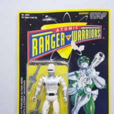 Figuras y Muñecos Power Rangers: ATOMIC RANGER WARRIORS FIGURA DE ACCION BLISTER. Lote 142733514