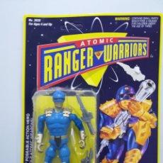 Figuras y Muñecos Power Rangers: ATOMIC RANGER WARRIORS FIGURA DE ACCION BLISTER. Lote 142733608