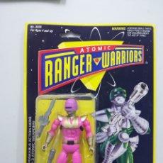 Figuras y Muñecos Power Rangers: ATOMIC RANGER WARRIORS FIGURA DE ACCION BLISTER. Lote 142733736