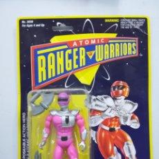 Figuras y Muñecos Power Rangers: ATOMIC RANGER WARRIORS FIGURA DE ACCION BLISTER. Lote 142733844