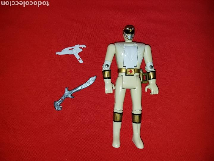 POWER RANGERS BLANCO MIGHTY MORPHIN TOMMY BANDAI 1993 (Juguetes - Figuras de Acción - Power Rangers)