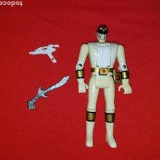 Figuras y Muñecos Power Rangers: POWER RANGERS BLANCO MIGHTY MORPHIN TOMMY BANDAI 1993. Lote 133232567