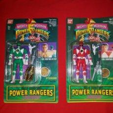Figuras y Muñecos Power Rangers: COLECCIÓN COMPLETA BLISTER POWER RANGERS AUTO MORPHIN 1993 / 1994 BANDAI. Lote 143619446