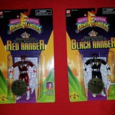 Figuras y Muñecos Power Rangers: COLECCIÓN COMPLETA BLISTER POWER RANGERS AUTO MORPHIN SPECIAL EDITION METALIZADOS 1995 BANDAI. Lote 143639553