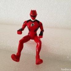 Figuras y Muñecos Power Rangers: FIGURA POWER RANGERS ROJO ARTICULADA JUNGLE FURY/PLÁSTICO/SIN MARCA.. Lote 143663602