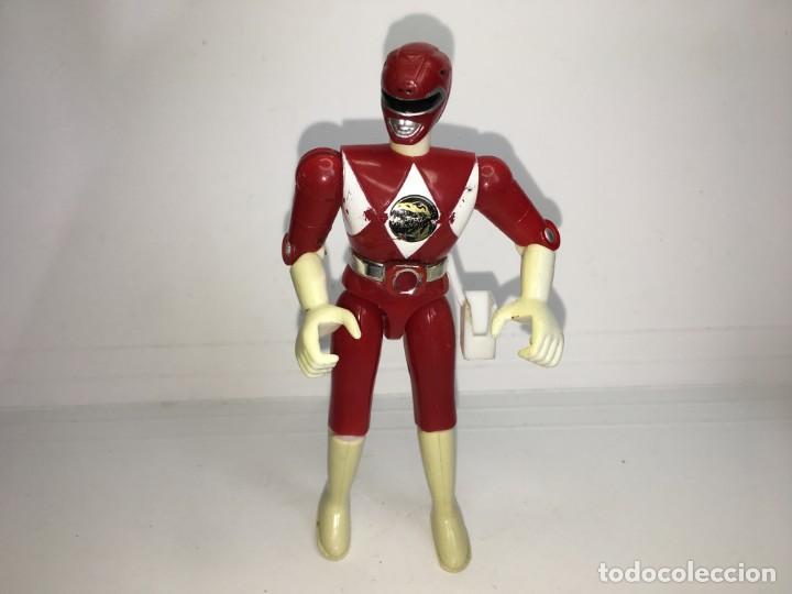 POWER RANGERS ROJO BANDAI 1993 (Juguetes - Figuras de Acción - Power Rangers)
