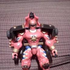 Figuras y Muñecos Power Rangers: MEGAZORD BANDAI 2003 . POWER RANGERS ROJO.TRANSFORMER.TIPO TRICERATOPS. . Lote 144917870