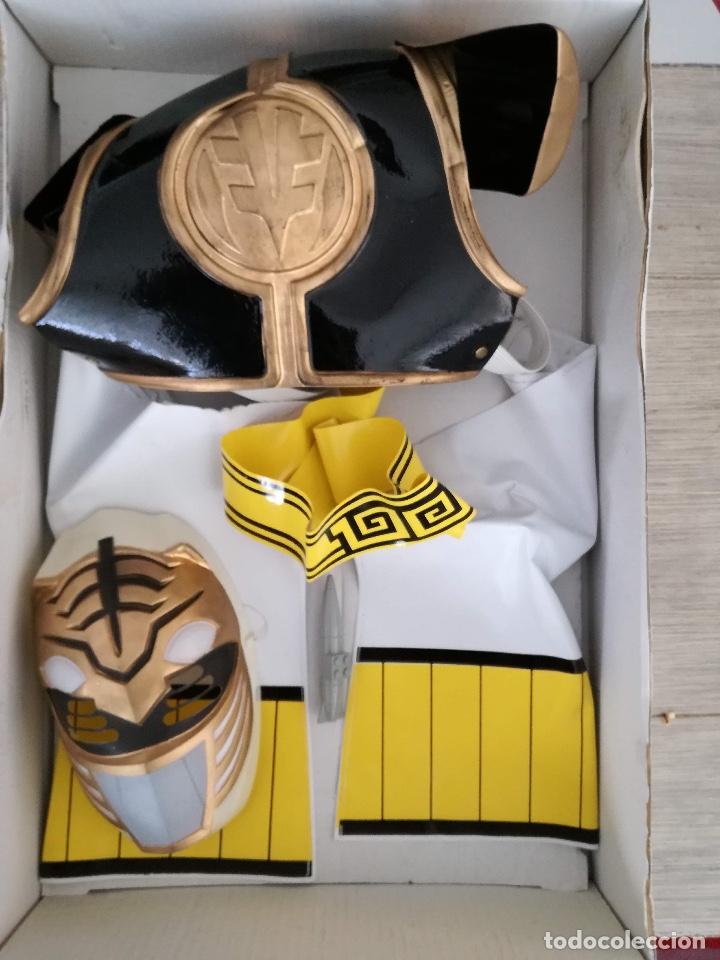 Figuras y Muñecos Power Rangers: POWER RANGERS - JOSMAN - EN SU CAJA ORIGINAL - SABANS - DISFRAZ DE POWER RANGER BLANCO TALLA 9 - COT - Foto 3 - 150724858