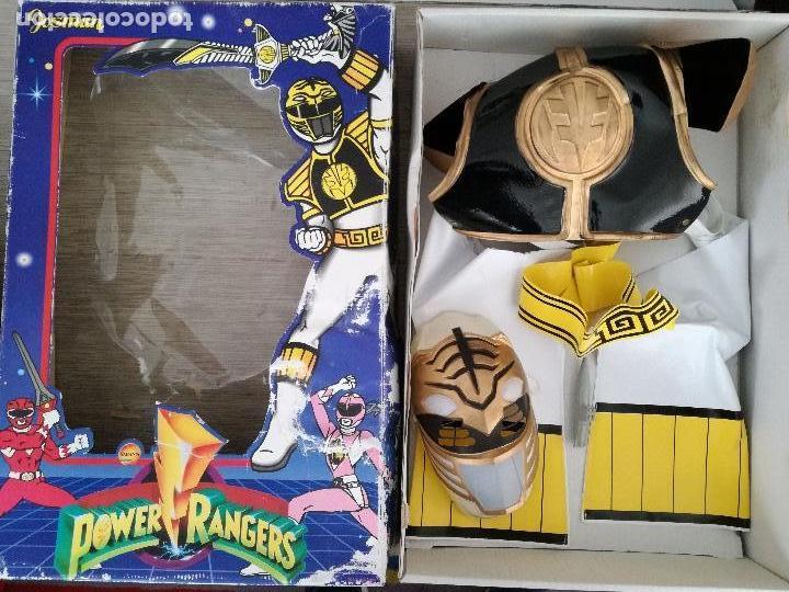 POWER RANGERS - JOSMAN - EN SU CAJA ORIGINAL - SABANS - DISFRAZ DE POWER RANGER BLANCO TALLA 9 - COT (Juguetes - Figuras de Acción - Power Rangers)