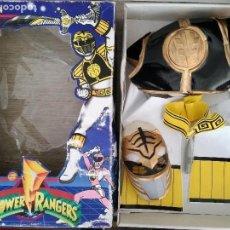 Figuras y Muñecos Power Rangers: POWER RANGERS - JOSMAN - EN SU CAJA ORIGINAL - SABANS - DISFRAZ DE POWER RANGER BLANCO TALLA 9 - COT. Lote 150724858