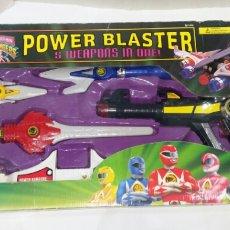 Figuras y Muñecos Power Rangers: POWER RANGERS POWER BLASTER. NUEVO EN CAJA. BANDAI. MIGHTY MORPHIN. 5 ARMAS EN 1. REF 2255. WEAPONS.. Lote 146167878