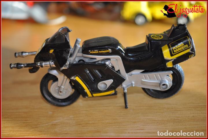 SJ 81 - POWER RANGERS - BANDAI 1993 - MOTO CON CAÑONES (Juguetes - Figuras de Acción - Power Rangers)