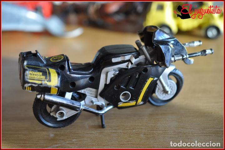 Figuras y Muñecos Power Rangers: SJ 81 - POWER RANGERS - BANDAI 1993 - MOTO CON CAÑONES - Foto 5 - 146994478