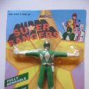 Figuras y Muñecos Power Rangers: SUPER RANGERS POWER RANGERS FIGURA BOOTLEG FLEXIBLE NUEVA EN BLISTER . Lote 147064610