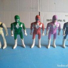 Figuras y Muñecos Power Rangers: POWER RANGERS MUÑECOS AÑOS 90,NO LLEVA MARCA. Lote 147349234