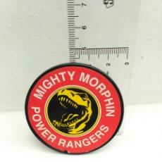 Figuras y Muñecos Power Rangers: CHAPA PLACA PLÁSTICA DE POWER RANGERS MIGHTY MORPHIN. Lote 148176320
