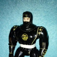 Figuras y Muñecos Power Rangers: FIGURA NINJA RANGER NEGRO POWER RANGERS BANDAI 1995. Lote 148248614