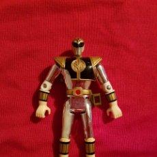 Figuras y Muñecos Power Rangers - Figura Power Rangers Metalizado Blanco Ranger Tommy 1995 Bandai - 148340513