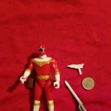 Figuras y Muñecos Power Rangers: FIGURA POWER RANGERS ZEO ROJO RED RANGER 1996 BANDAI. Lote 148344838