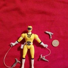 Figuras y Muñecos Power Rangers: FIGURA POWER RANGERS TURBO AMARILLO YELLOW RANGER 1997 BANDAI. Lote 148345825