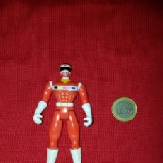 Figuras y Muñecos Power Rangers - Figura Power Rangers Space Red Rojo Ranger 1998 Bandai - 148357946