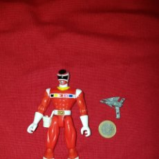 Figuras y Muñecos Power Rangers: FIGURA POWER RANGERS SPACE RED ROJO RANGER 1997 BANDAI. Lote 148358668