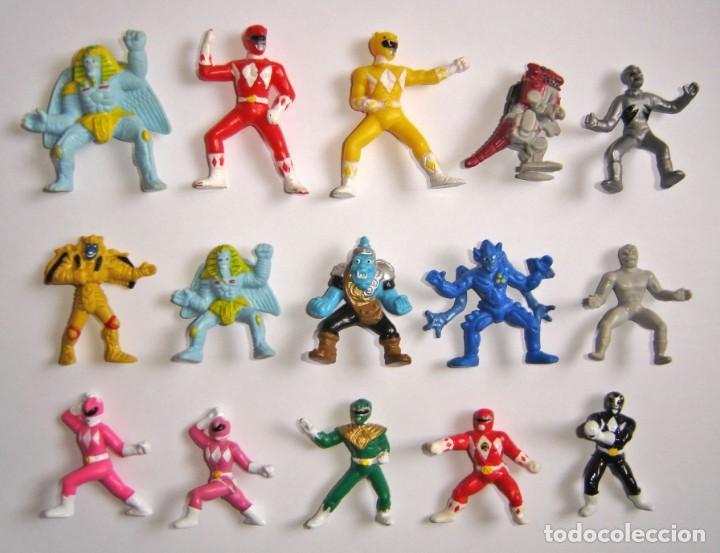 Lote 15 Mini Figuras Miniaturas Pvc Power Range Sold Through