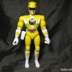 Figuras y Muñecos Power Rangers: FIGURA POWER RANGERS AMARILLO BANDAI 1993 VER FOTOS. Lote 150230754