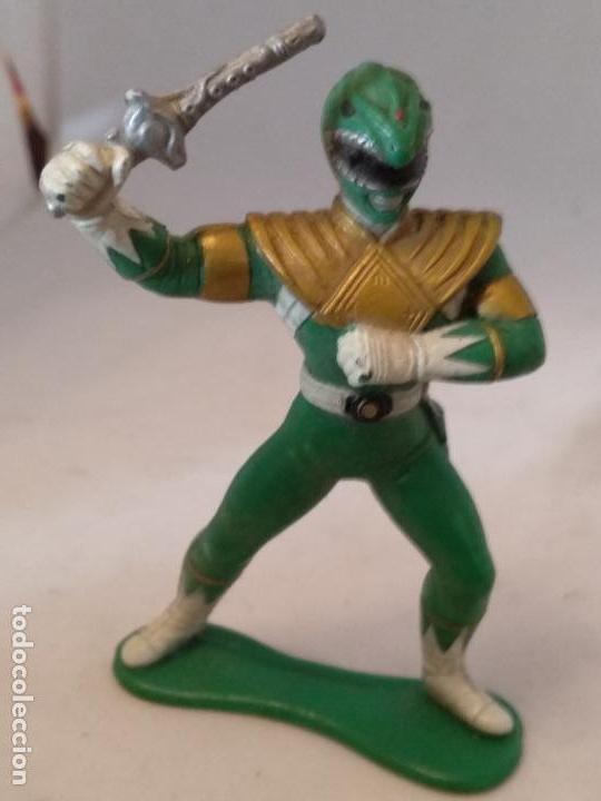 FIGURA POWER RANGERS VERDE BANDAI 93 (Juguetes - Figuras de Acción - Power Rangers)
