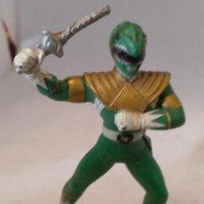 Figuras y Muñecos Power Rangers: FIGURA POWER RANGERS VERDE BANDAI 93. Lote 150661042