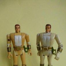 Figures and Dolls Power Rangers - Dos figuras de los power Rangers...con cabeza giratoria... - 151572634