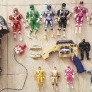 Figuras y Muñecos Power Rangers: GRAN LOTE FIGURA MUÑECO POWER RANGERS BANDAI 1993 MEGAZORD PISTOLA MAQUINA COLECCION JUGUETE VINTAGE. Lote 151757394